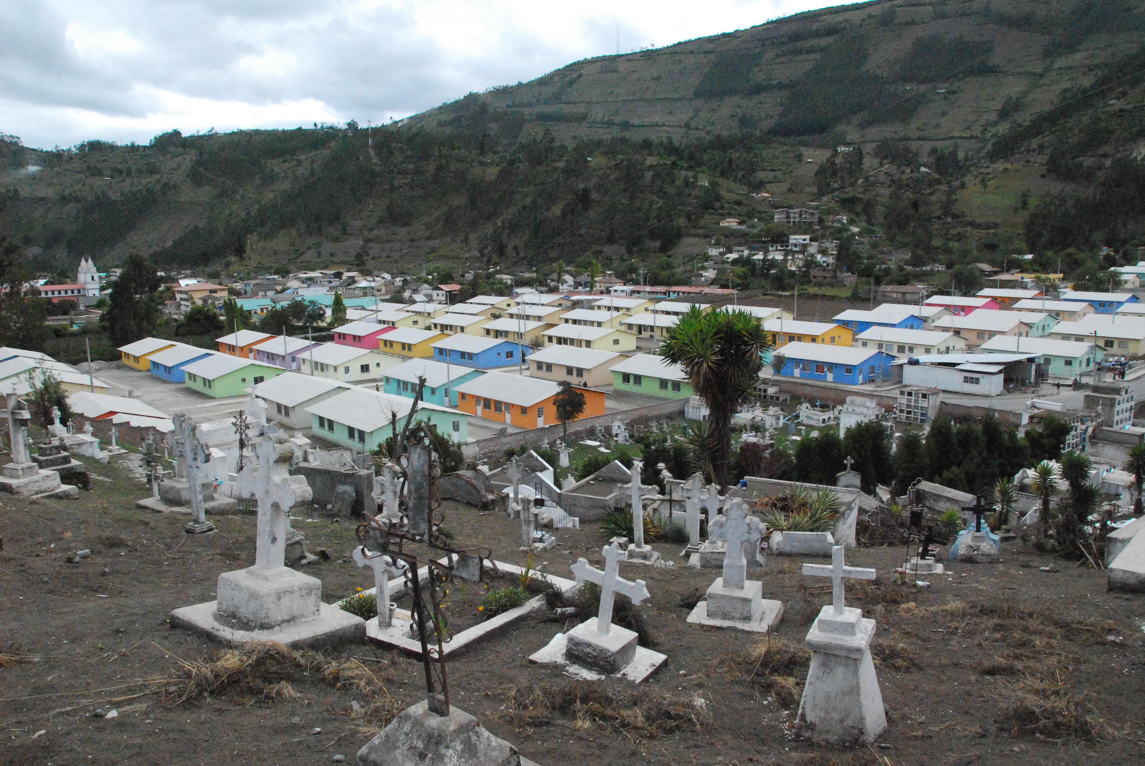 Penipe Ecuador Resettlement
